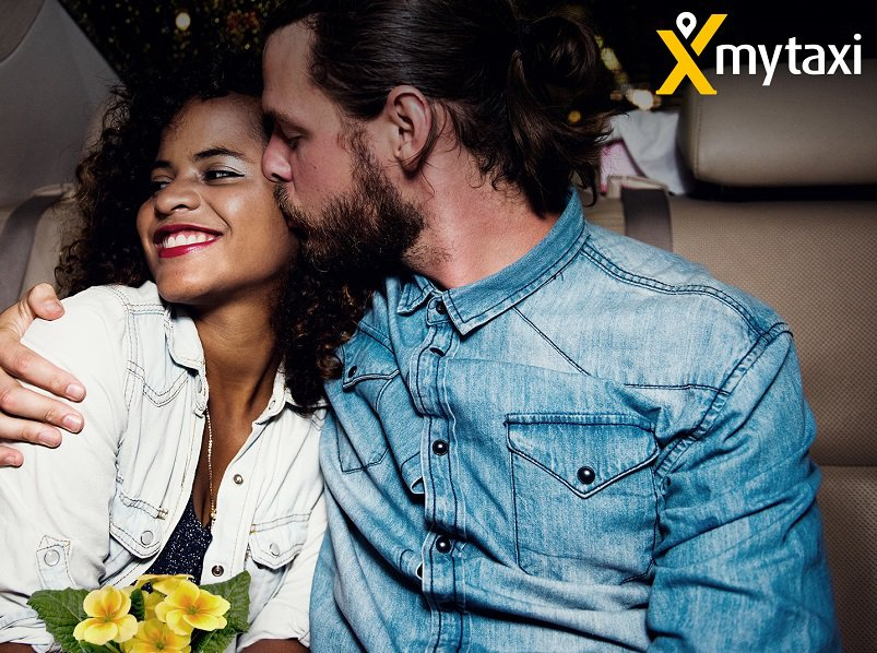 mytaxi_Be my yellow Valentine