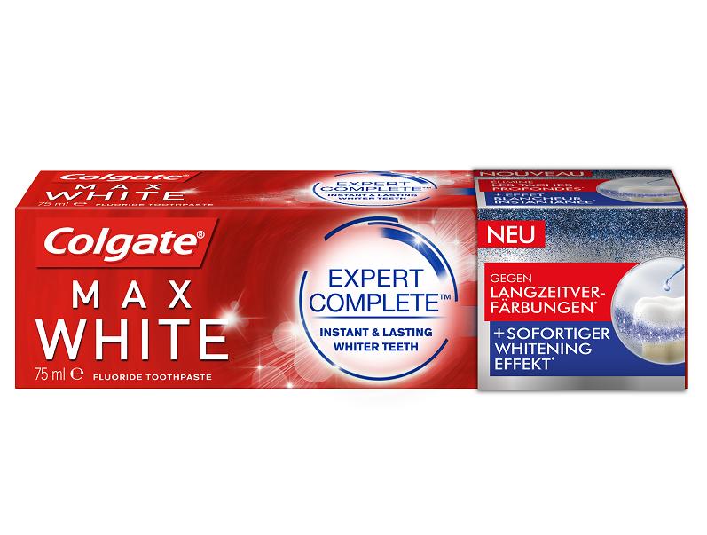Colgate MaxWhite Expert Complete_Verpackung