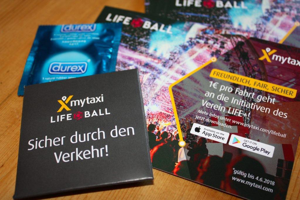 mytaxi Verteilaktion - Kondome