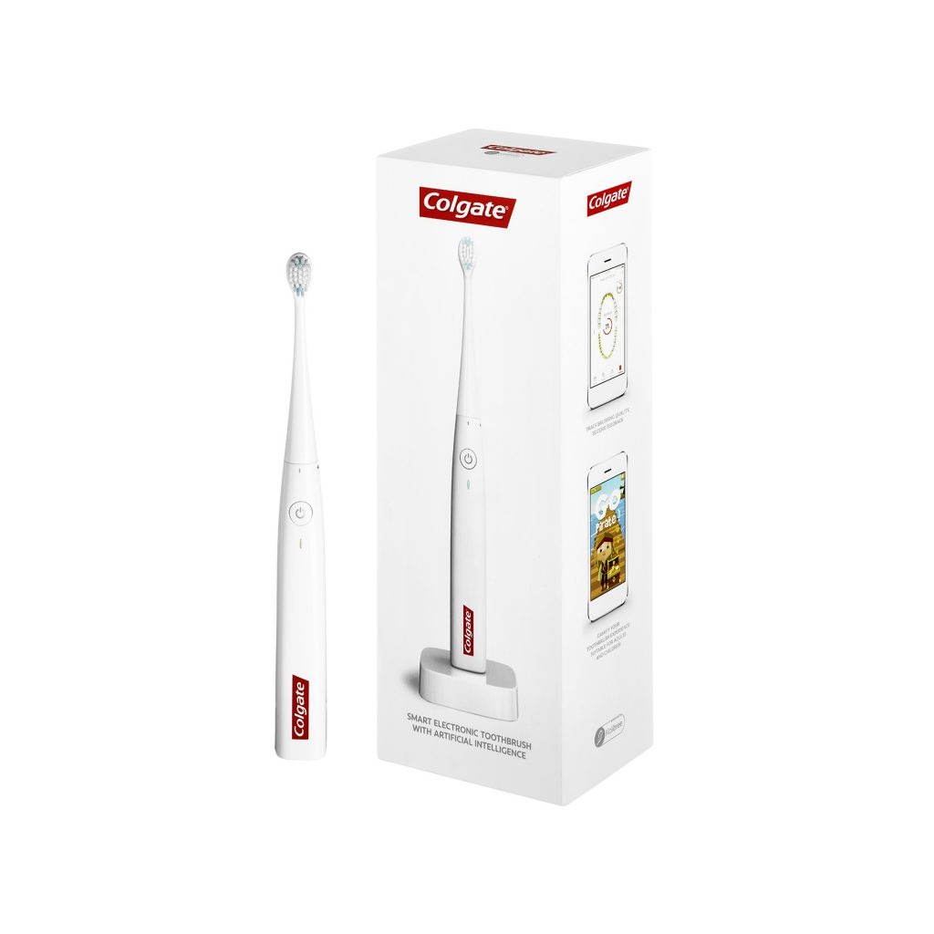 Colgate Connect E1 mit Verpackung
