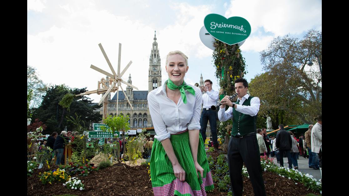 Steiermark-Frühling am Wiener Rathausplatz