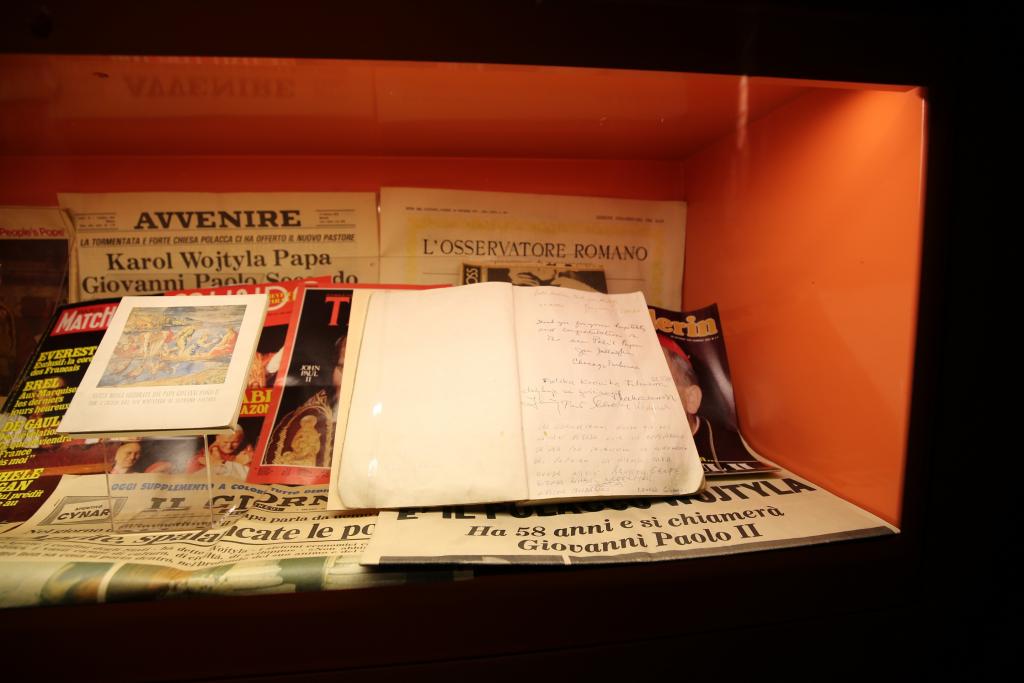 Exponate im Elternhaus-Museum des Heiligen Vaters Johannes Paul II. in Wadowice