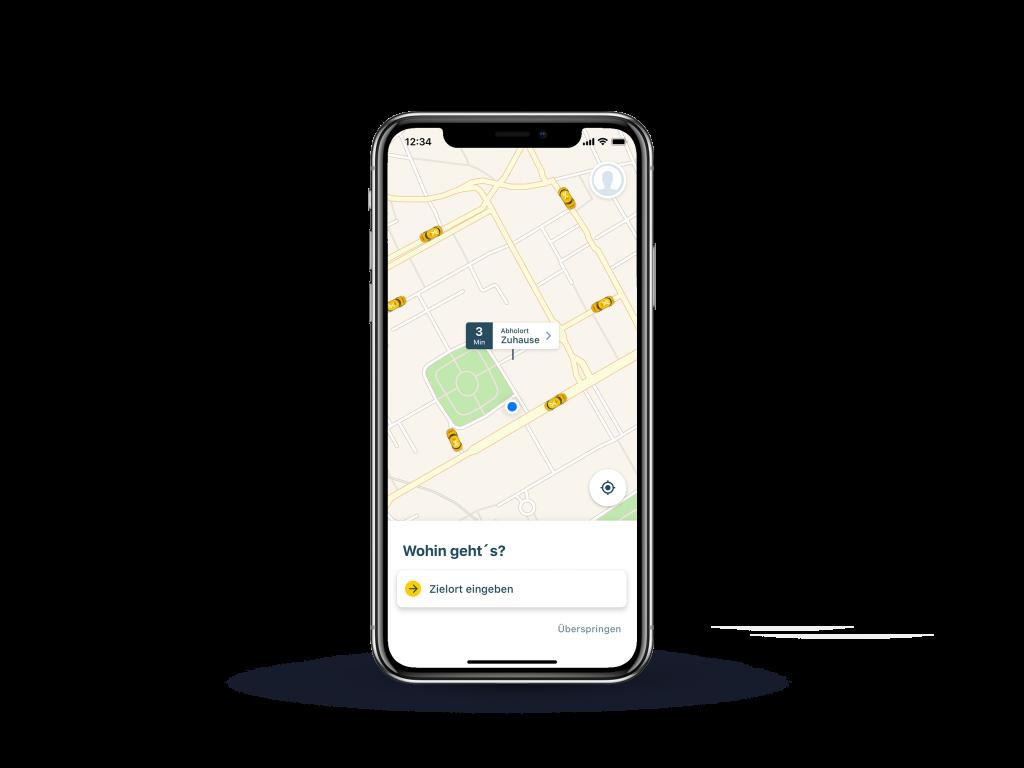 mytaxi App Radar