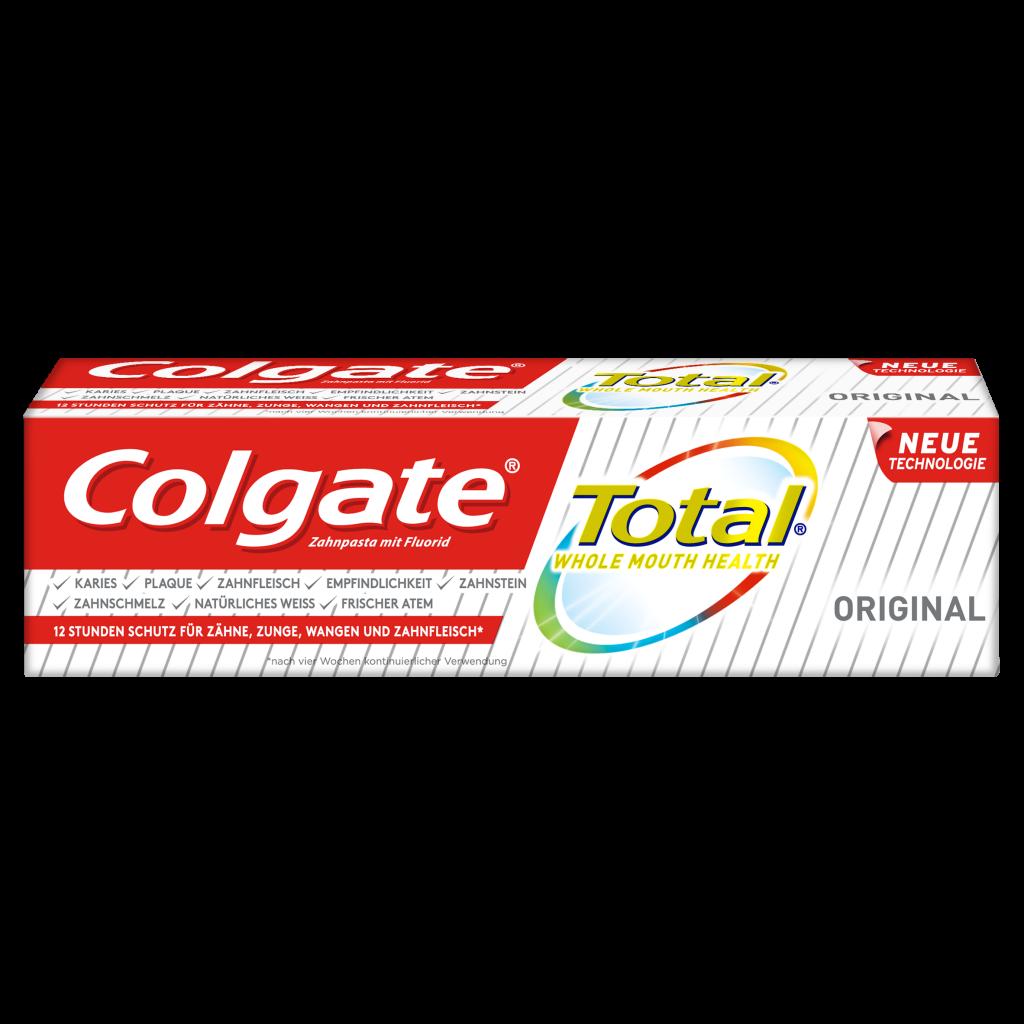 Colgate Total Original Zahnpasta 75ml front of pack