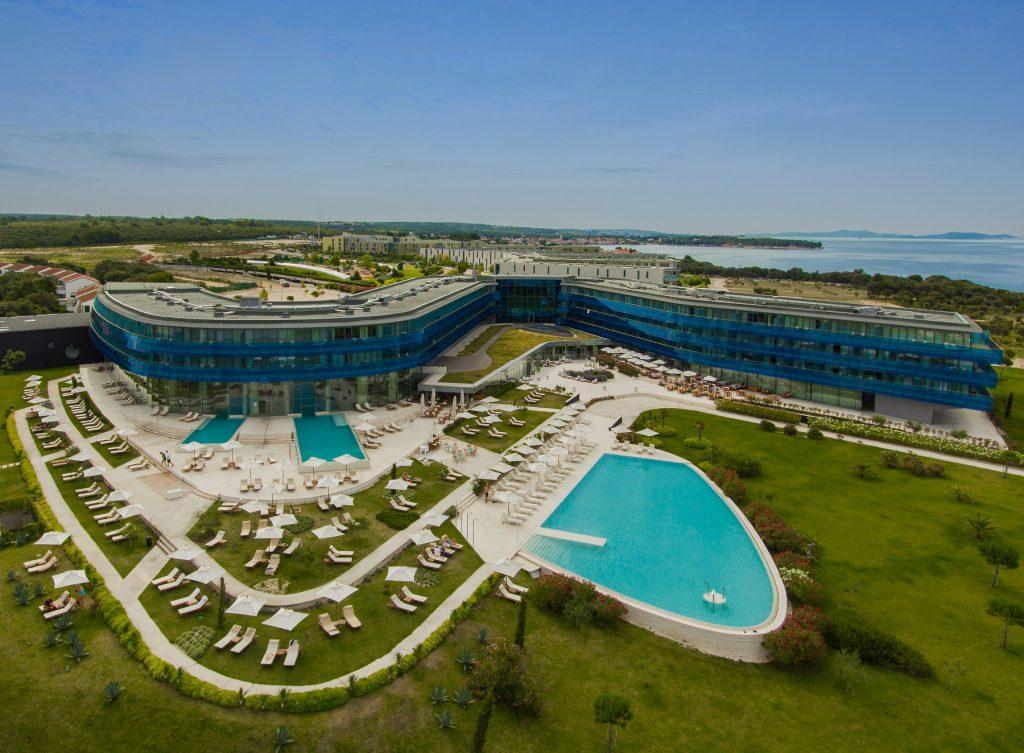 Hotel Iadera Luftaufnahme