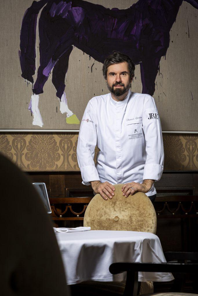 Küchenchef Thomas Gruber (c) Lukas Kirchgasser