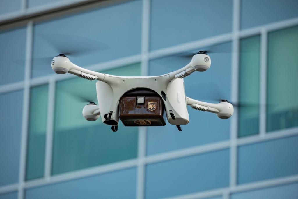 UPS Drohnen-Zustellung (c) UPS