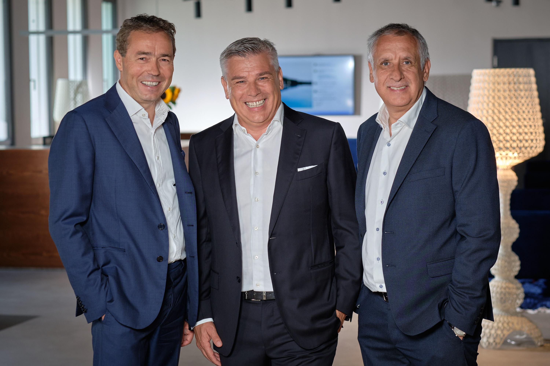 v.l.n.r. Otmar Michaeler, Erich Falkensteiner, Andreas Falkensteiner