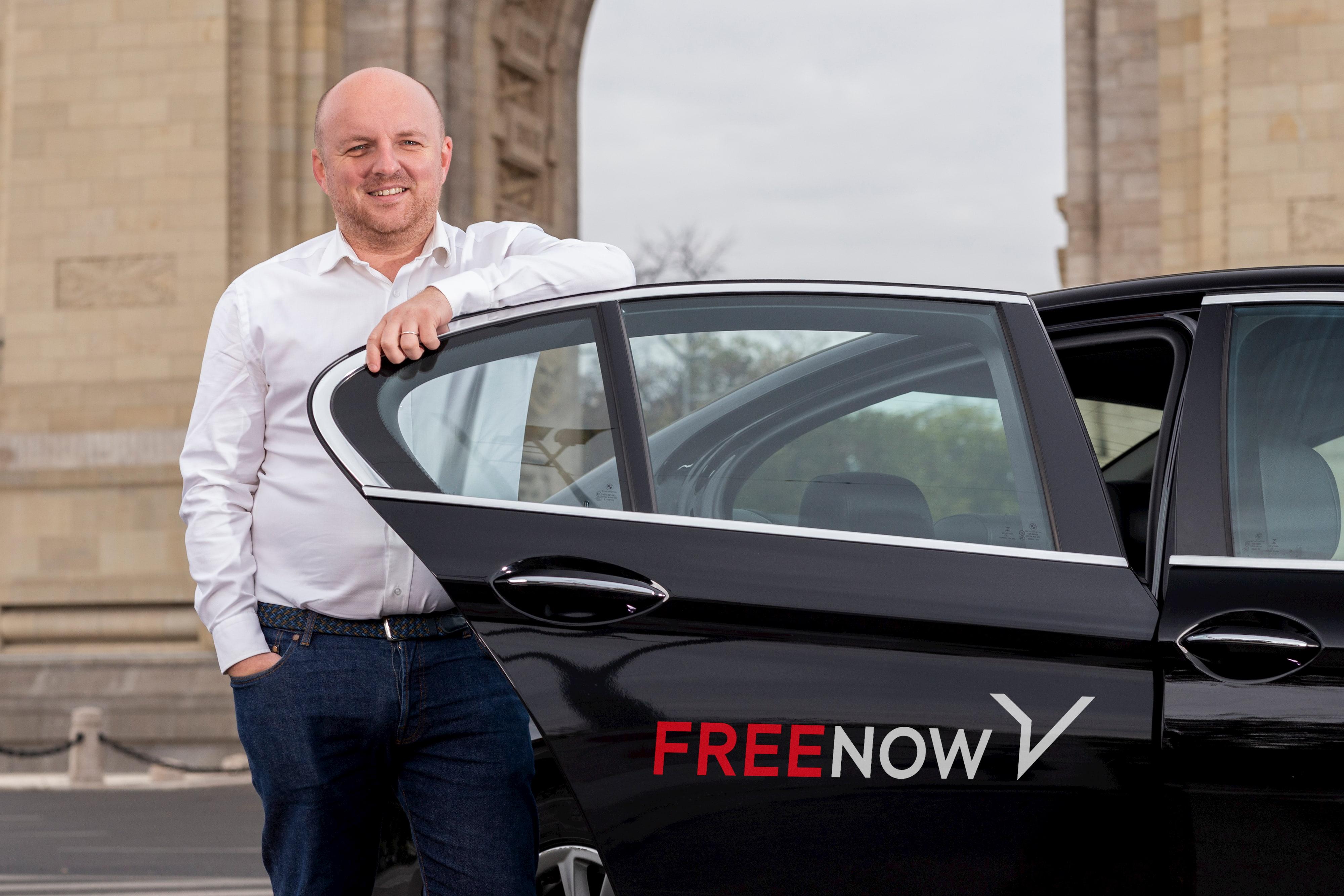 Andrei Frunza, General Manager FREE NOW Rumänien
