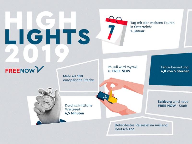 FREE NOW Highlights 2019_Beitragsbild