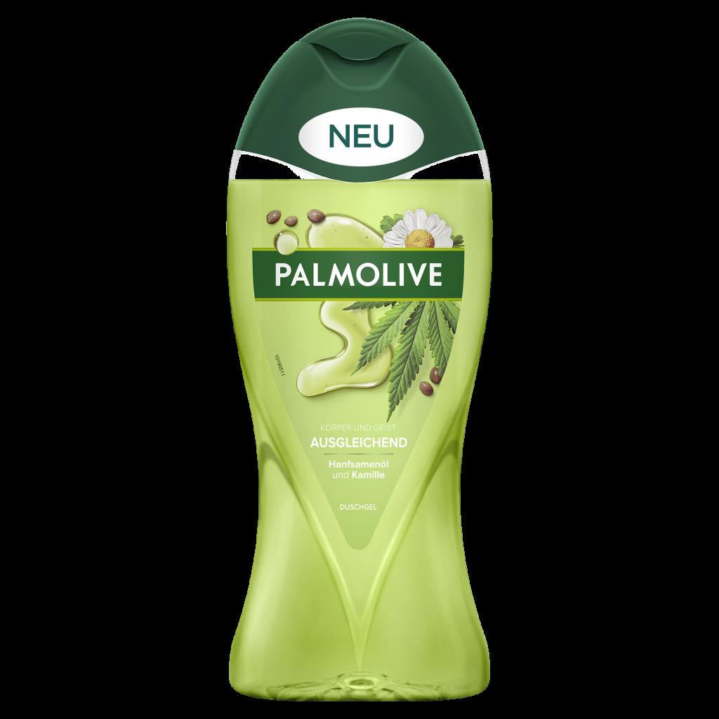 Palmolive Wellness_Ausgleichend_Hanfsamenoel und Kamille_Duschgel_250ml_©CP GABA_fA