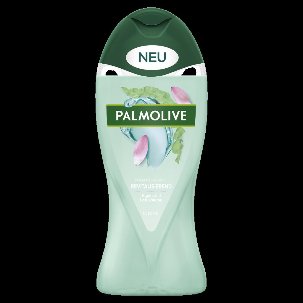 Palmolive Wellness_Revitalisierend_Alge und Lotusblume_Duschgel_250ml_©CP GABA_fA