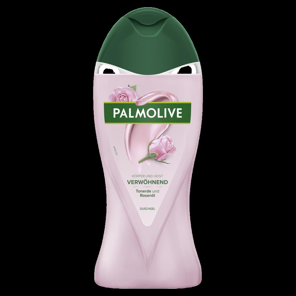 Palmolive Wellness_Verwoehnend_Tonerde und Rosenoel_Duschgel_250ml_©CP GABA_fA