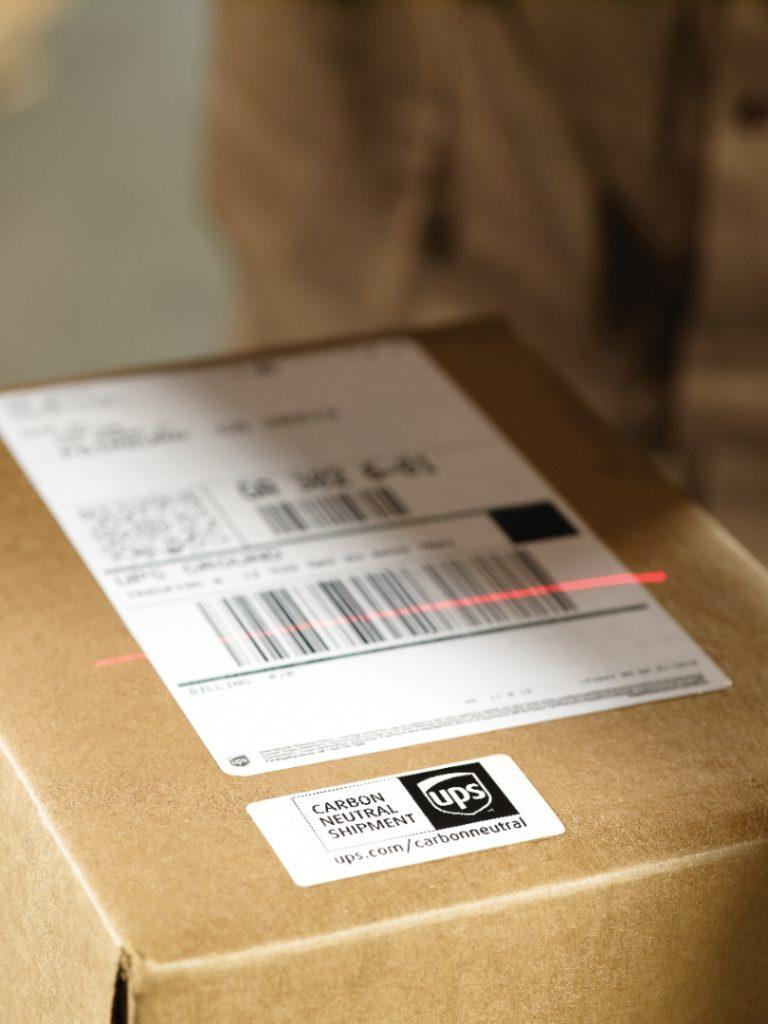 UPS carbon neutral Sendung (c) UPS