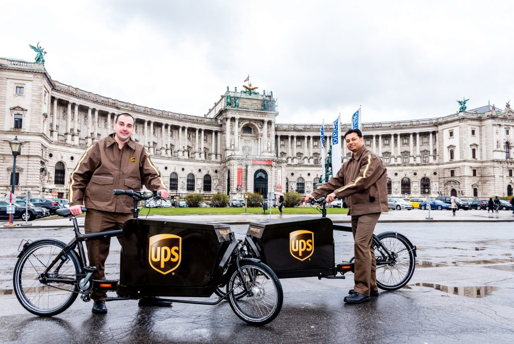 UPS_Cargo City Bikes Wien