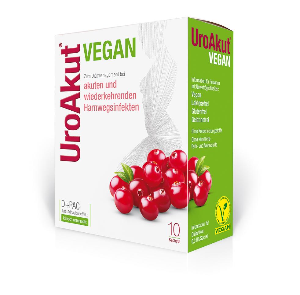 UroAkut Vegan Sachets Packung_(c)Kwizda Pharma